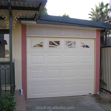 Remote control garage doors with window