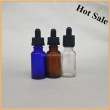 30ml amber essence oil glass bottle body lotion/e juice / e liquid glass bottle with glass pipette and child proof cap