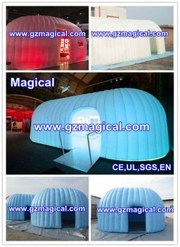 LED Inflatable Exhibition Tent for Promotion