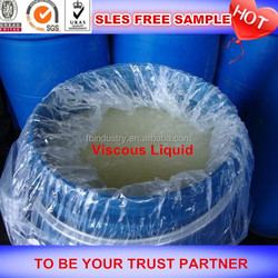 Hot sale cheap price sodium lauryl ether sulphate sles 70% professional manufacturer