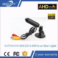 2.0MP AHD CCTV Camera 1080P Sony IMX322 Senor Colorful Night View Star Light 0.0001 Lux HD AHD Pinhole Camera 1080P