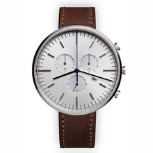 OEM logo sport style water resistant quartz japan movt wrist high quality leather watch