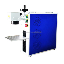 China supply 20W 30W portable mini fiber laser metal marking machine for aluminum copper engraving caving