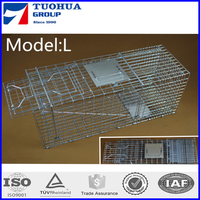 foldable live animal cage trap for cat and other animals