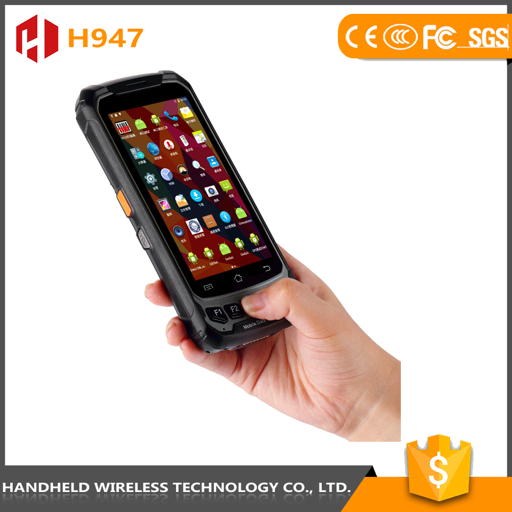 IP65 Industrial pda with barcode scanner  NFC 4G