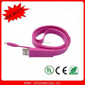 Flat Micro USB Data Sync Charging Cable Cord for htc/mobilephone