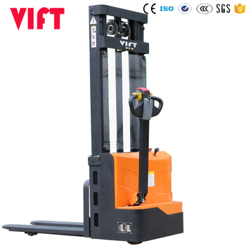 Electric stacker price 1000 kg Full Electric Stacker with Battery Charger