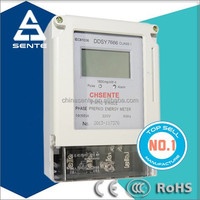 DDSY7666 Single-phase Electronic Prepaid Energy Meter With AMI AMR PLC