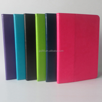 Hot sell stand PU Leather Case for Ipad mini4 for two folds