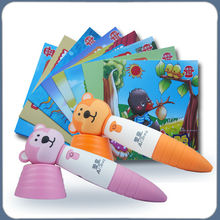 2013 Hot Sale science lovely appearane reading pen for baby learn alphabet letter
