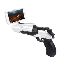 2017 christmas good gift vr/AR gun bluetooth shooting toy with 3d ar game for iphone android smart phone