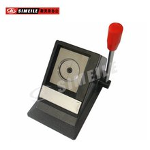 desktop type circle shape photo punch cutter