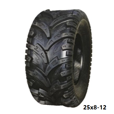 Tubeless ATV/golf/turf Tire 16x6.50-8 with Rim