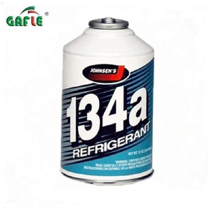 car AC no residue cooling refrigerant gas r134a in can