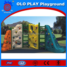 Import Plastic Surface Grinding Kids Outdoor Rock Climbing Wall