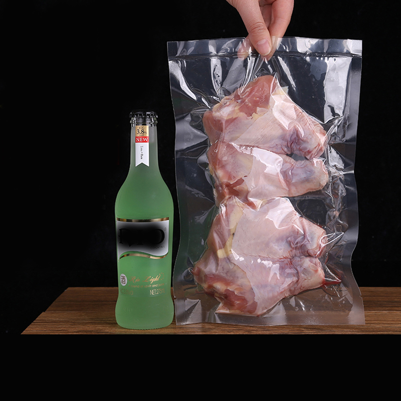 China supplier customized plastic food grade pckaging vacuum bag for chicken