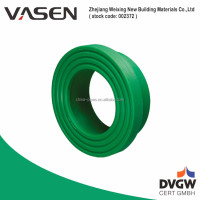 VASEN Flange Adaptor Green Plastic Water Pipe Fittings Supplier