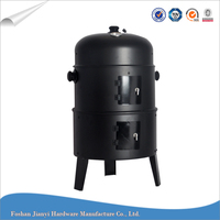 Multilayer Charcoal BBQ Grill Outdoor Vertical Smoker