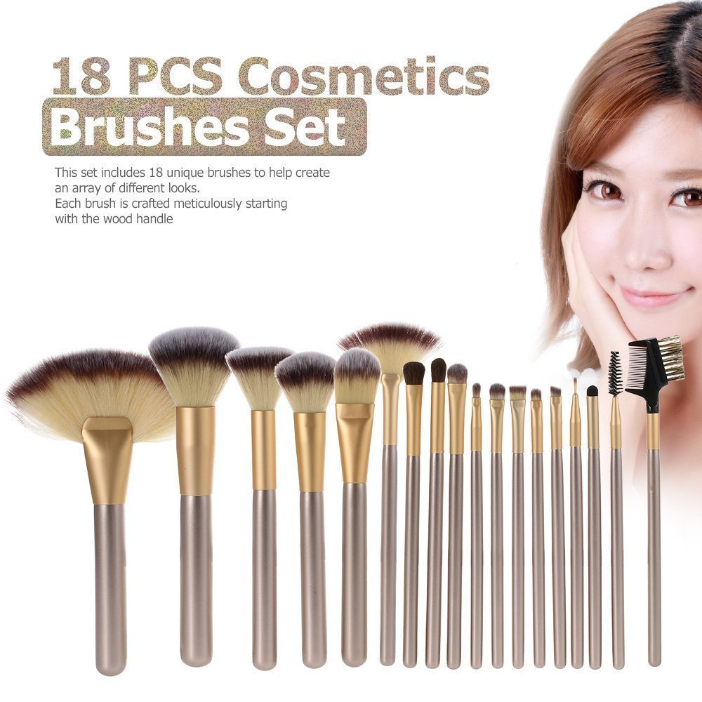 24/18/12pcs Professional Luxury Makeup Brushes