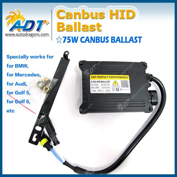 2015 New And Hot Products Fast shipping 9-16v 75w HID conversion kit slim 01 and lighter ballast