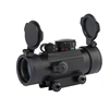red and green illuminated 4 type reticle red dot sight scope with slide track for hunting rifle scope