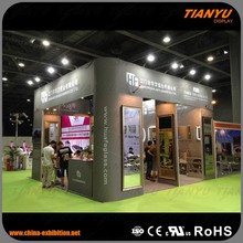 Aluminium Equipment Trade Stands Circular Custom Stand Event Display Outdoor Exhibition Booth