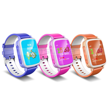 1.44inch Screen Kids Tracking Smart Watch Mobile Phone GPS Child Locator Watch
