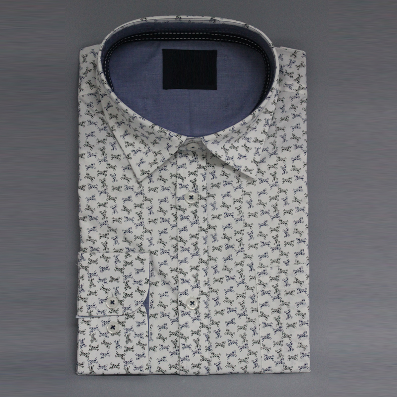 Anti <strong>pilling</strong> printed bamboo button down shirts for men