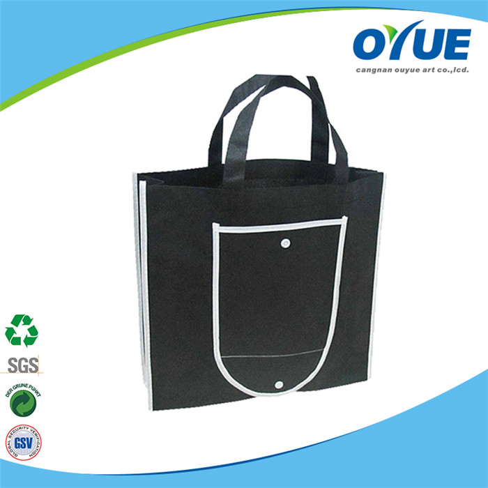 Newest recycle reusable and foldable shopping bag