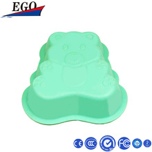 animal shape hot resistant silicone bowl
