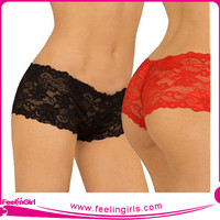 Wholesale Sexy Nude Lace Sex Women Hot Panties