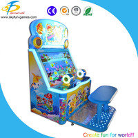 2016 newest kids lottery gift game machine for two players in factory price