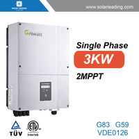 3kw grid tie inverter with pure sine wave output for paneles solares system