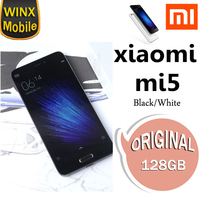 Cell Phone for xiaomi mi5 3+64GB RAM ROM smart phone Black White Wholesale only