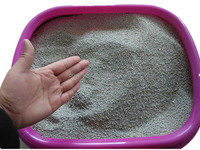 2016 hot sale bentonite cat litter high quality natural clumping cat sand