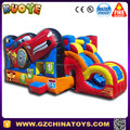 Popular inflatable jumping castle,race car inflatable bounce house,inflatable bouncy castle for kids