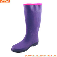 purple/pink/sexy/Fashion rubber boots