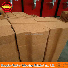 High strenght fire chamotte refractory brick