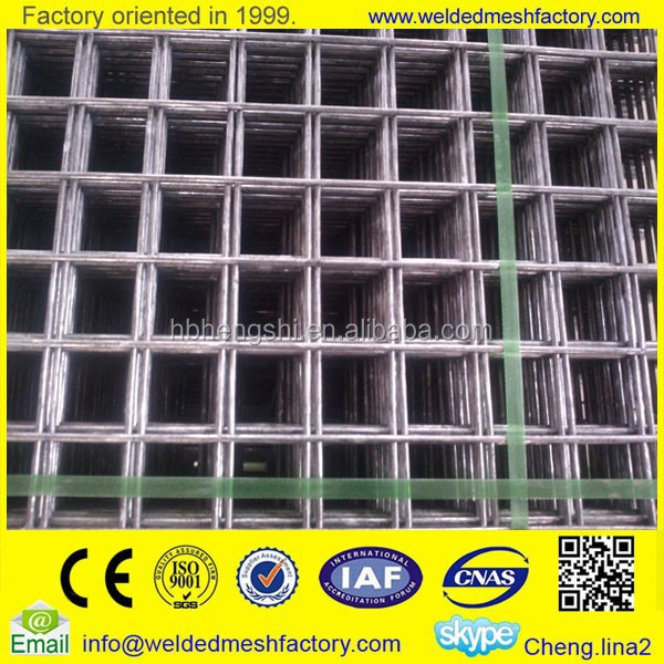 welded wire mesh fence panels in 6 gauge(factory)