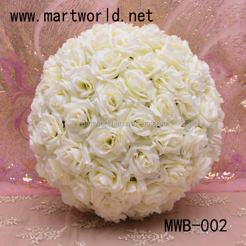 Ball&half-ball shaped artificial hanging flower decoration, decorative flowers for home,hotel,party&wedding decoration(MWB-001)