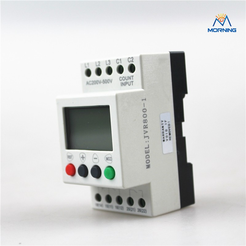 JVR800-1 Multifunction 3-phase and Sequence/Overvoltage/Undervoltage Monitoring Relay with Counting and Timing