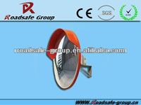 ABS back High Quality Unbreakable Convex Safety Mirror