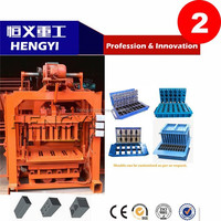 QT 4-40 Hot sale block making machine /Factory price cement brick machinery making/hydraulic press machine for animal mineral
