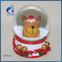 personalized polyresin craft snow water globes