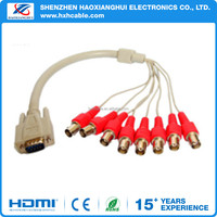 Computers Extension Video Cable for VGA to 8BNC Cable