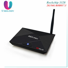 Original A5X Pro RK3328 2G 16G Android 7.1 Smart TV Box 4K 1080P HD Steaming IPTV Box Receiver 2.4G 5G Dual WiFi