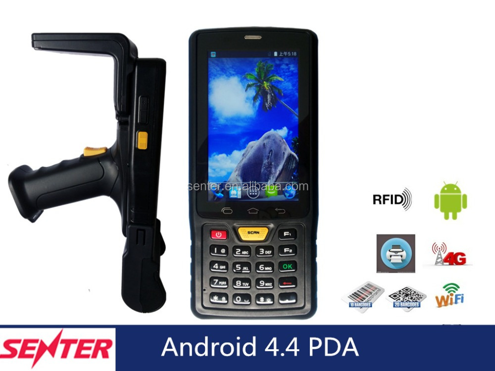 rugged pda Hot 4'' Industrial Android courier Pda barcode scanner handheld terminal ST907V7.0 Android 4.4 3G/4G WIFI GPS 3800mAh