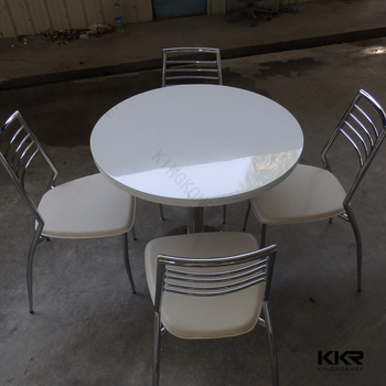 Malaysia round marble dining table set for sale View