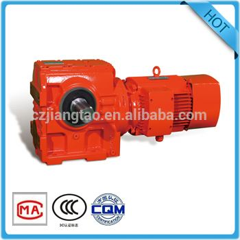 helical worm gear reducer cylindrical crown gearbox with hollow shaft right angle gear reducer