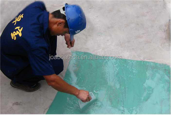 One component polyurethane waterproof paint for concrete floors